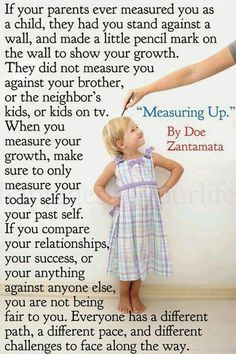 Measuring Up by Doe Zanamata this is perfect