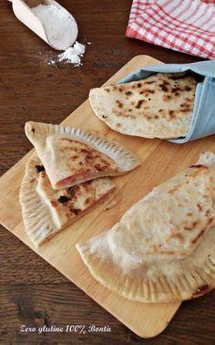 Calzoni in padella senza lievito e glutine