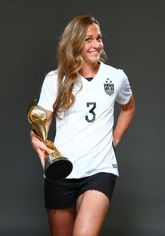 Christie Rampone, outtakes from Sports Illustrated commemorative World Cup covers. (Simon Bruty/Sports Illustrated)