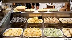 Eataly NYC. The perfect place to pick up a simple meal to cook at home, or enjoy one of their restaurants. Amazing fresh Italian fare.