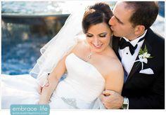 Riviera Country Club Wedding Portraits