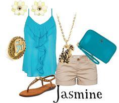 """""""Jasmine Inspired"""" by disneydiva305 ❤ liked on Polyvore"""