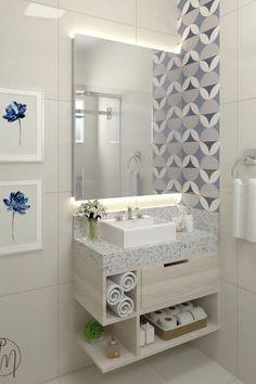 Home Room Design, Home Design Decor, Home Decor Trends, Decor Ideas, Bathroom Design Luxury, Modern Bathroom Design, Toilette Design, Washbasin Design, New Interior Design