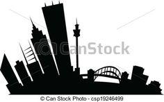 sydney ville dessin - Recherche Google