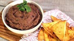 Black Bean Dip with Spiced Pita Chips Recipe   The Chew - ABC.com