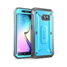 Samsung Galaxy S6 Edge Protector Skin Shockproof Hard TPU Case Cover Bumper New
