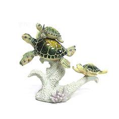 Marine Life Swimming Sea Turtle with Coral Base Figurine WonderMolly http://www.amazon.com/dp/B00N21JDJS/ref=cm_sw_r_pi_dp_LLJ3vb1FXFD4J