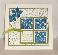 For All You Do in navy and olive eured99 by eured99 - Cards and Paper Crafts at Splitcoaststampers