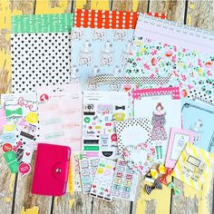 Okay friends!! It's finally here! The full reveal of The Planner Society kit for September! . I absolutely love all of the colabs that went on to make this 100% exclusive kit possible! I teamed up with a lot of talented girls this month including @twolilbees @shop.evalicious @theresetgirl @shopvillabeautifful and @shopfreckledfawn to bring you some truly fabulous planner goodies! This kit includes four mini size stickers sheets that fit inside the adorable pink planner and holds both washi…