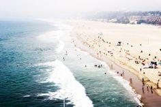 Beach Photo Print on Canvas