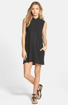 RVCA 'Nothing Else' Hoodie Dress with Pockets / #nordstrom