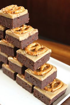 Beer, butterscotch, and fudge: sounds like the perfect game day treat!