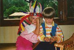My own kids in 1996