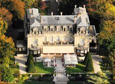 Chateau Les Crayères, près de Reims... @Gianluca Migliorisi Chateaux