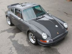 Image result for classic grey porsche 911t
