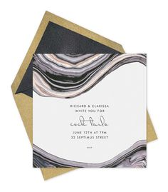Chic Invites: Kelly Wearstler's New Collection for Paperless Post.