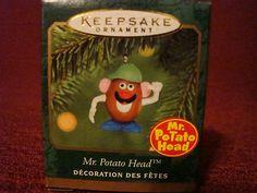 Mr Potato Head Miniature ornament