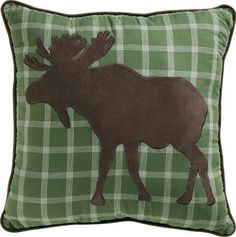 Cabela's: Cabela's Appliqué Decorative Pillows. I think I can figure this out and make my own... Maybe.