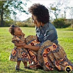 #Naturalhair #motherdaughter
