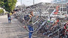 An der Rudolfstrasse lässt die Stadt von Velofahrern sechs verschiedene Doppelstock-Parksysteme testen. Ein Team des «Landboten» hat sich schon mal eine Meinung gebildet: Es gibt durchaus Unterschiede in Handhabung und Kraftaufwand.