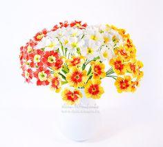 Примула « Керамическая флористика. Цветы из холодного фарфора. Уроки и мастер-классы