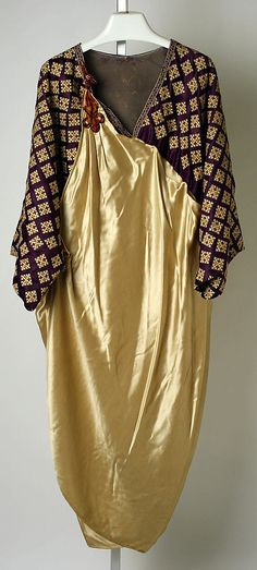 Dressing gown, Jessie Franklin Turner, 1918-22, American, silk