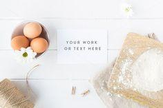 Styled stock photo - Baking + BONUS by White Hart Design Co. on @creativemarket