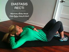 Diastasis Recti Bikini Body Mommy Ab exercise 1
