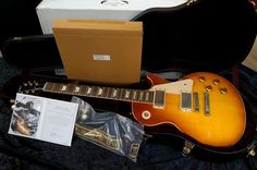 """Gibson Custom Shop Historic Collection Inspired By Eric Clapton 1960 Les Paul """"Beano"""" Signed Aged"""