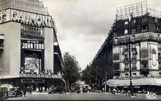 La place de Clichy et le Cinéma Gaumont, vers 1950 (Paris 8e/9e/17e/18e)