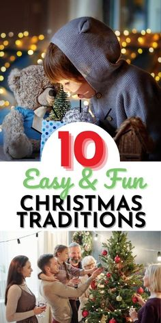 Here are some family christmas traditions that your children will think are magical and will remember long until they pass them on to their kids!