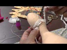 Boneca Tilda Bailarina - Maria Adna Ateliê - Cursos e aulas de bonecas inclusive Tildas - YouTube