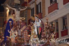 Trono de la Hermandad Salesiana, Cristo de las Penas (Málaga, 2016)