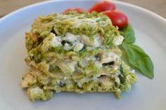 Lasagne-pesto-e-pollo-ricetta