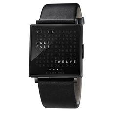 main image of QlockTwo Watch......perfect boyfriend gift