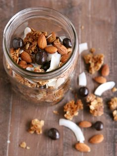 Winter Trail Mix with BROOKSIDE Dark Chocolate @FoodBlogs