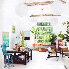beautiful light living space