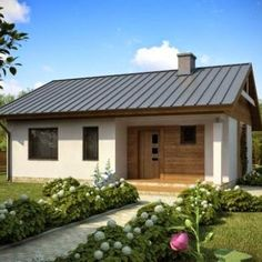 Last Trending Get all images simple house decoration pictures Viral maxresdefault Simple House Plans, Beach House Plans, Modern House Plans, Simple House Interior Design, Tiny House Design, Small Houses For Sale, Small House Living, Beautiful Small Homes, Tiny House Exterior