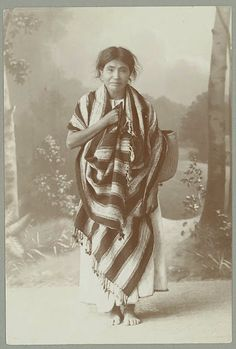 Otomi woman - circa 1885