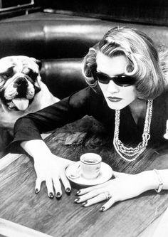 Helmut Newton, 1982 - another shot of that gorgeous dog