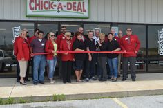 Tuesday, May 4, 2013: Chick-A-Deal Ribbon Cutting