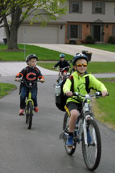 Wheaton students participated in #BiketoSchoolDay and learned about bike safety.