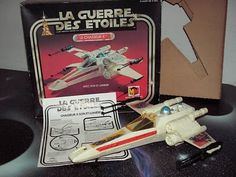 French Miro-Meccano X-Wing (Le Chasseur X)