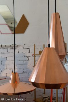 Copper Lights designed by David Derksen - vij5.nl Milano Design Week 2014