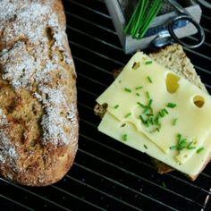 Sauerkraut Kamut Bread HealthyAperture.com