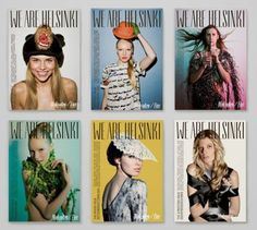 WE ARE HELSINKI mag covers