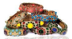 Bangles by Kenneth Jay Lane
