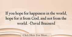 David Brainerd Quotes About Hope - 36151