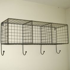 Vintage Industrial Decor Metal Wire Locker Room Wall Shelf Hooks Storage Basket Vintage Industrial Style - The master bathroom is one of the most used rooms in the house.I did a roundup of 10 over the toilet bathroom storage ideas. Bathroom Furniture, Industrial Storage, Vintage Industrial Decor, Vintage Industrial Furniture, Small Bathroom Storage, Industrial Interiors, Locker Room, Industrial Style, Metal Lockers
