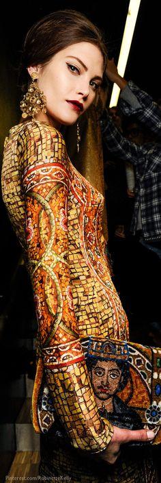 Dolce & Gabbana Byzantine dress. Gorgeous.             www.madamebridal.com